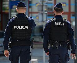 Policjant dotkliwie pobity pod Lubinem. Stracił przytomność
