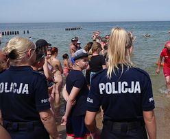 Akcja na plaży w Mielnie. Rodzice zgubili 4-letnie dziecko