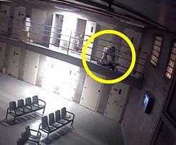 USA. Tragiczne nagranie z więzienia. Więzień zaatakował strażników