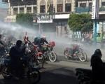 Zakaz jazdy motocyklami spowodował zamieszki