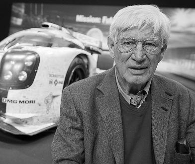 """Siegfried Rauch na promocji książki """"Unser Le Mans"""" w Berlinie, 2016"""