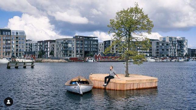 """""""Wyspy te będą wykorzystywane przez pływaków i kajakarzy, jako miejsce odpoczynku"""""""