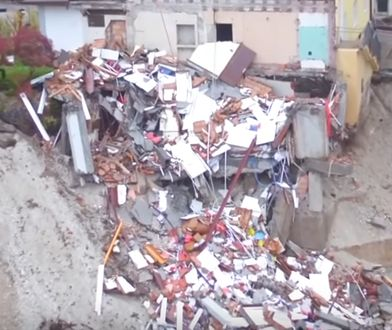 Szokujące nagranie pokazuje ogrom zniszczeń we Włoszech