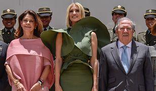 Ivanka Trump podczas wizyty w Bogocie