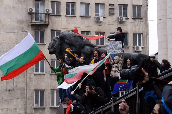 Protesty w Sofii