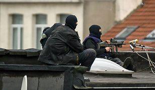 Akcja brukselskiej policji w Molenbeek