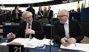 Jean-Claude Juncker i Frans Timmermans