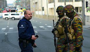 Żołnierze na ulicach Brukseli
