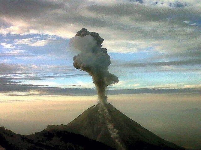 Wybuchł groźny wulkan