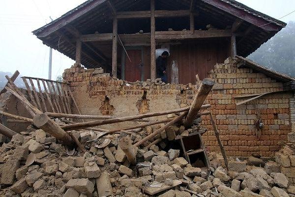Trzęsienie ziemi w Chinach