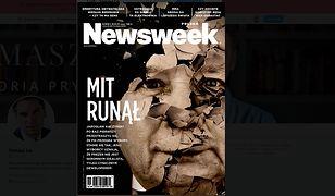 """Redaktor naczelny """"Newsweeka"""" pokazał okładkę poniedziałkowego wydania tygodnika"""