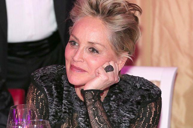 """""""Straciłam wszystko, co miałam"""" - mówi Sharon Stone."""