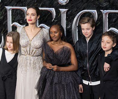 Angelina Jolie planuje wyjechać z dziećmi do Afryki?