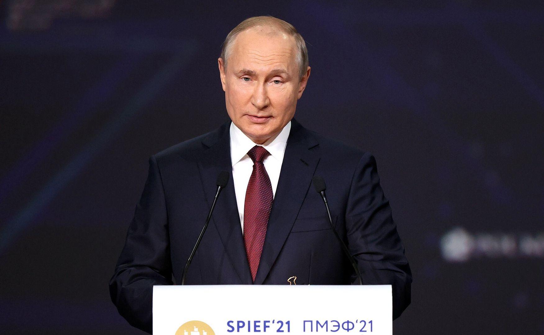 Prezydent Rosji Władimir Putin (Kremlin Pess Service)