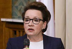 Anna Zalewska: gimnazja właściwie wygasiły się same