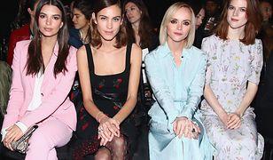Gwiazdy na New York Fashion Week