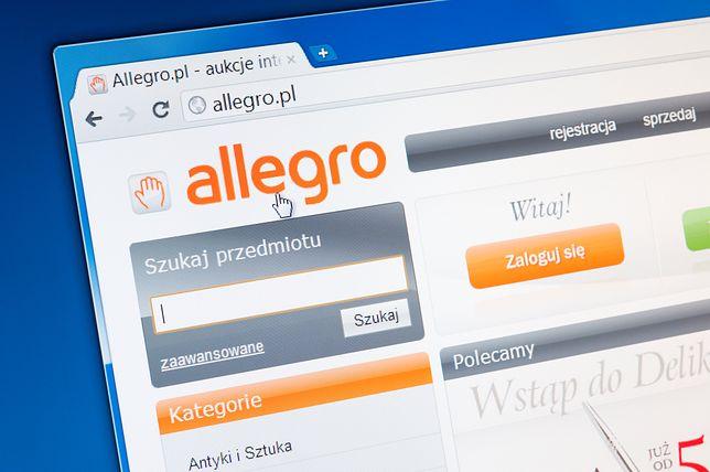 Oszuści podszywają się pod Allegro