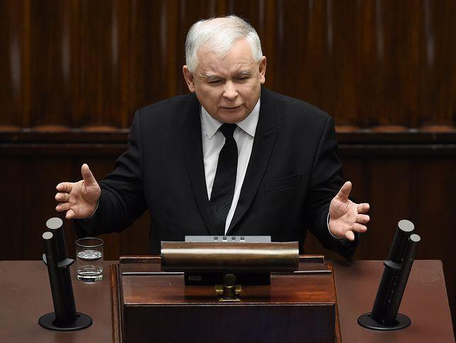 Opozycja pyta marszałka Sejmu, jak ukarze posła Jarosława Kaczyńskiego