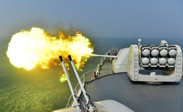 Ćwiczenia chińskiej marynarki wojennej