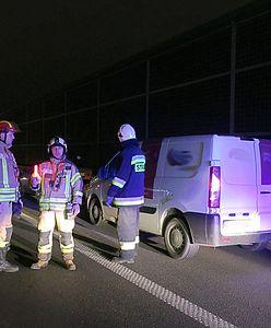 Potrącił strażaka zabezpieczającego wypadek. Policja puściła go wolno