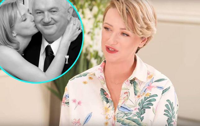 Ula Chincz jest córką Andrzeja Turskiego. Ukochany tata odprowadził ją w dniu ślubu do ołtarza