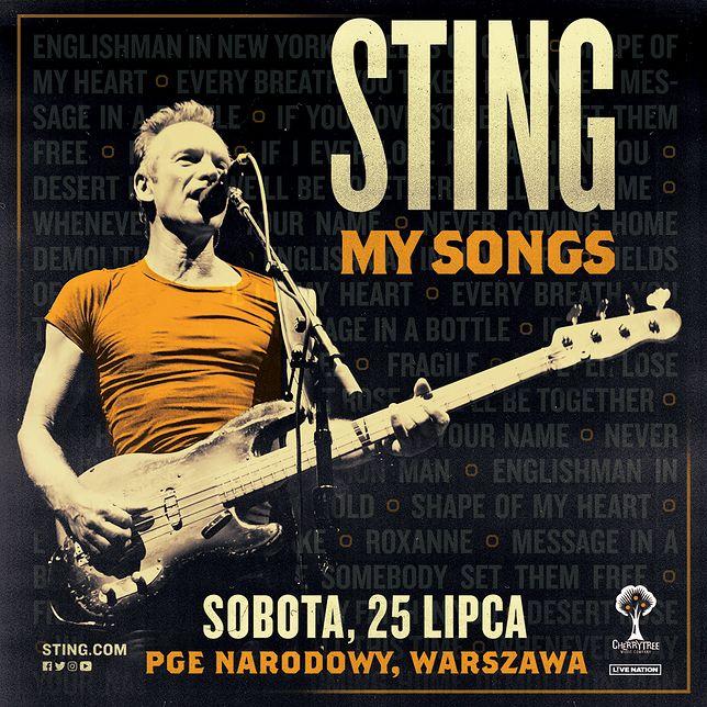 Sting wystąpi w lipcu na PGE Narodowym