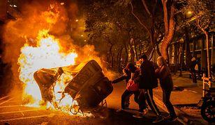 Aresztowanie rapera wywołało zamieszki. Hiszpanie starli się z policją