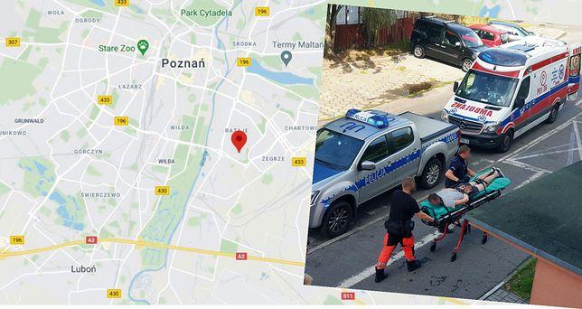 Poznań. Atak na cudzoziemców. Agresora zabrała karetka