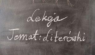 Robić laskę czy łaskę? Nauczyciel uczy o literówkach. Rodzice oburzeni