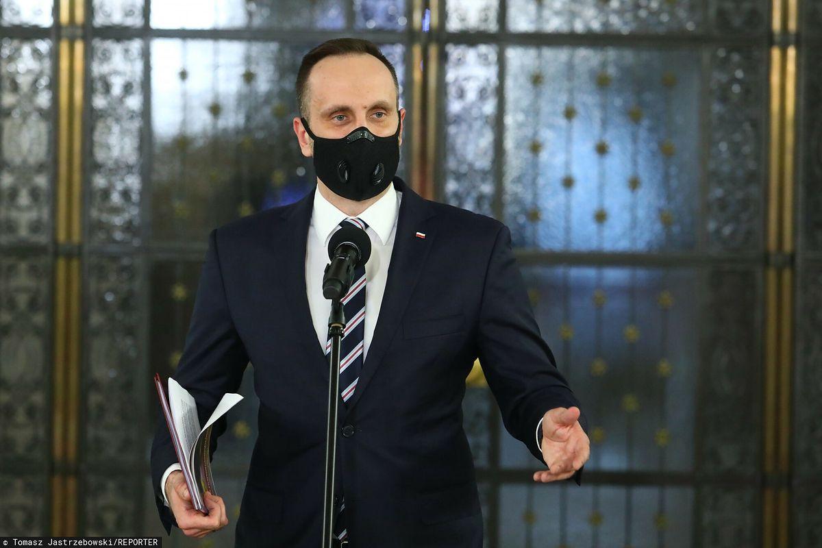 Janusz Kowalski, wiceminister, opolski poseł na Sejm i polityk Solidarnej Polski.