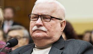 Były prezydent Lech Wałęsa w amerykańskim Kongresie