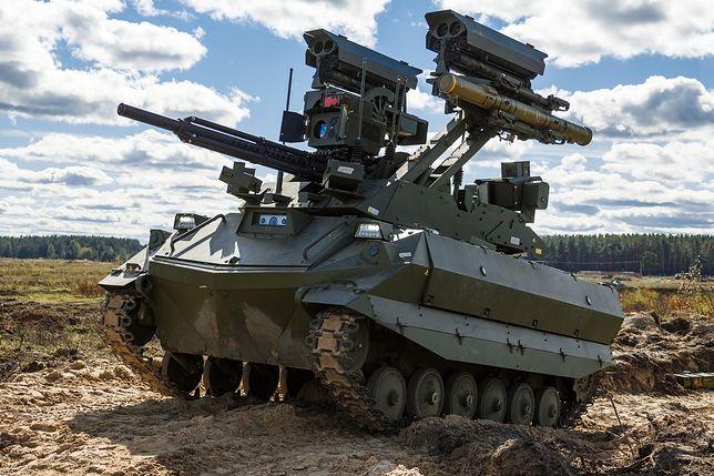 Zapad 2021. W ćwiczeniach użyto nowych maszyn bojowych