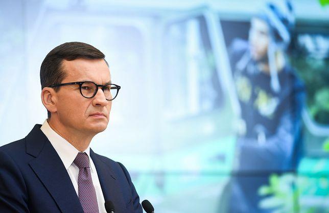 Premier Mateusz Morawiecki. Mińsk i Moskwa chcą destabilizacji?