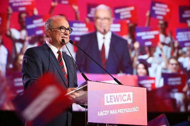 Wybory parlamentarne 2019. Lider SLD Włodzimierz Czarzasty