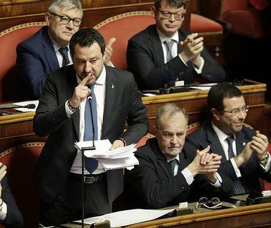 Matteo Salvini, były wicepremier.