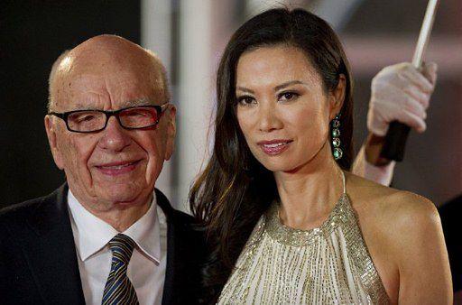 Zaskakujące skutki ataku na Ruperta Murdocha