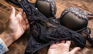 Czarne koronki uchodzą za eleganckie i nadające ubraniom i dodatkom nutki tajemniczości