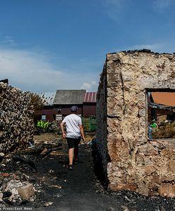Nowa Biała. Po pożarze kolejne domy idą do rozbiórki