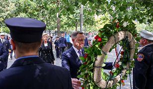 Andrzej Duda w Nowym Jorku. Prezydent mówił o katastrofie smoleńskiej
