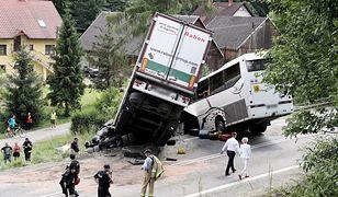 Do wypadku doszło w piątek przed południem na drodze krajowej nr 7