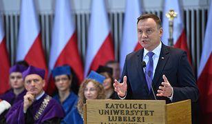 Andrzej Duda mówił o wyzwaniach dla Polski we współczesnym świecie