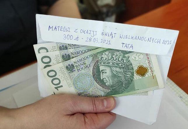 Chłopiec odzyskał kopertę z pieniędzmi