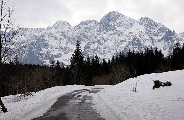 Pogoda. W góry zawitała zima