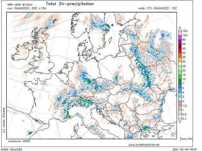 Pogoda. Opady w środę mogą pojawić się na południu i w centrum kraju