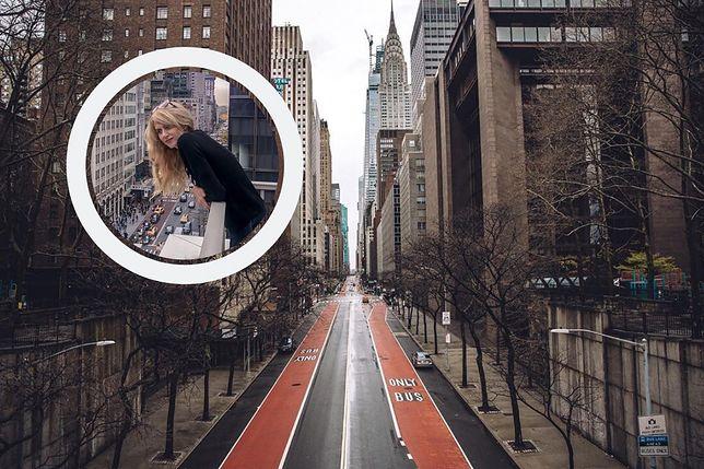 Polka mówi o kwarantannie w Nowym Jorku. Wyjaśnia, jak wygląda życie w stanie, w którym w miesiąc zmarło tysiąc osób