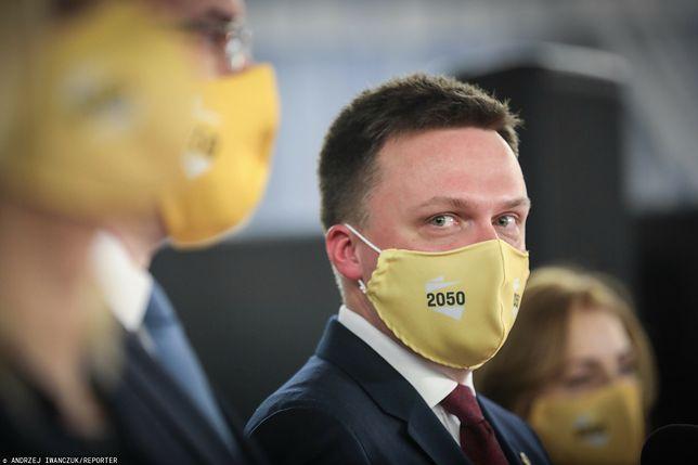 Szymon Hołownia - lider ruchu Polska 2050