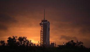 Pierwszy lot załogowy SpaceX będzie widoczny na niebie nad Polską