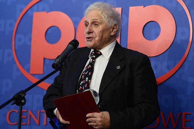 Prof. Jerzy Vetulani w 2012 r.