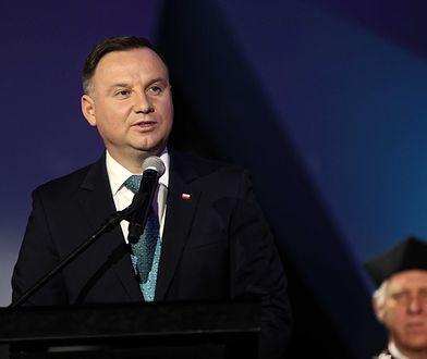 Prezydent Andrzej Duda na 100-leciu AGH w Krakowie.