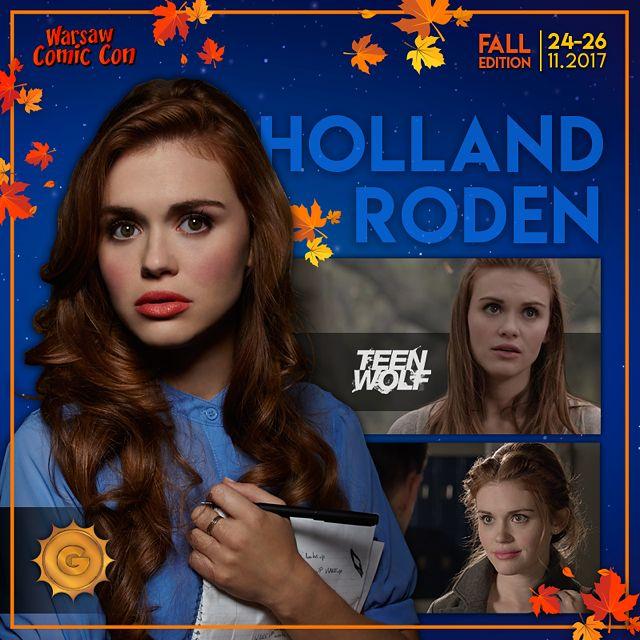 Holland Roden kolejną międzynarodową gwiazdą 2. Warsaw Comic Conu. Rusza przedsprzedaż biletów!